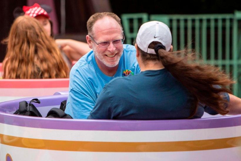 Ameeriklane on viimased viis aastat iga päev Disneylandis käinud