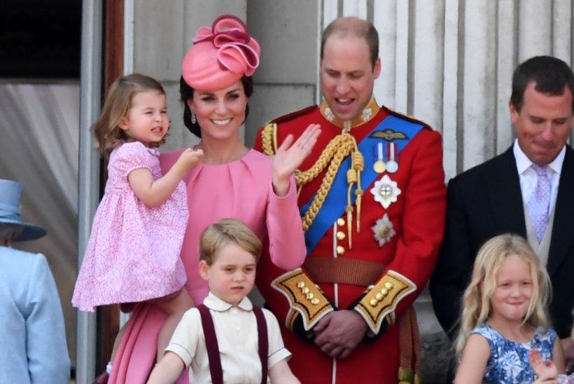 Prints William ja hertsoginna Catherine reisivad koos lastega Saksamaale ja Poolasse