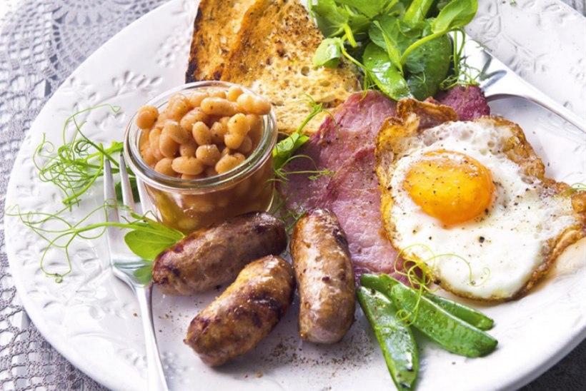 Inglispärane kuninglik hommikusöök