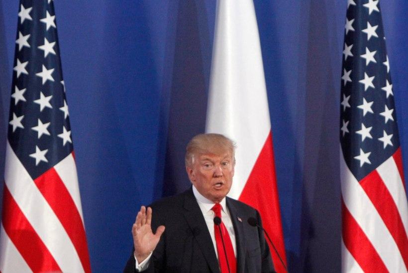 Trump Poolas: Lääne tsivilisatsiooni tulevik on kaalul