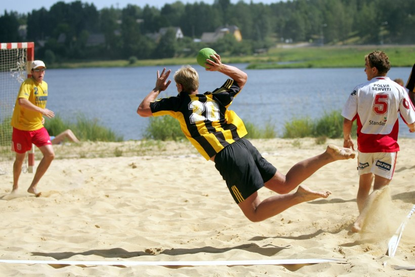 Pärnu rannas vollet mängida – mida paremat oskaks veel tahta?