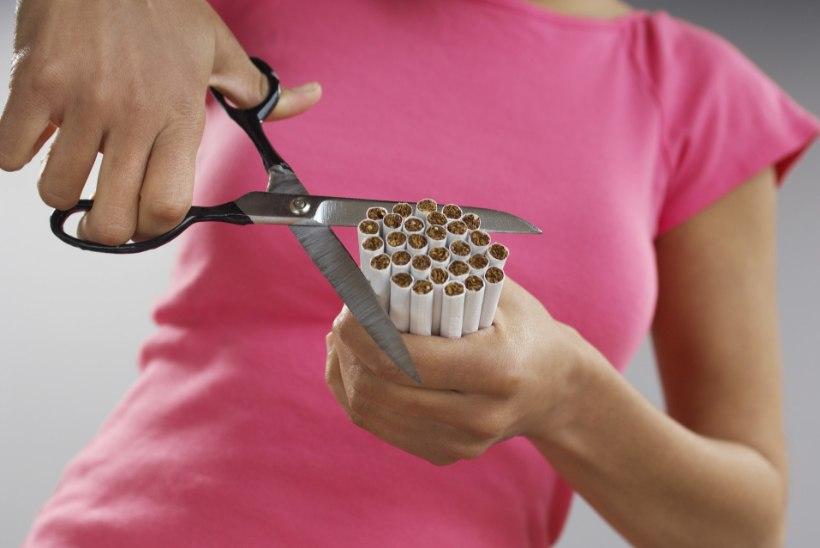 Kas suitsetaja kopsud paranevad, kui tossamine maha jätta?