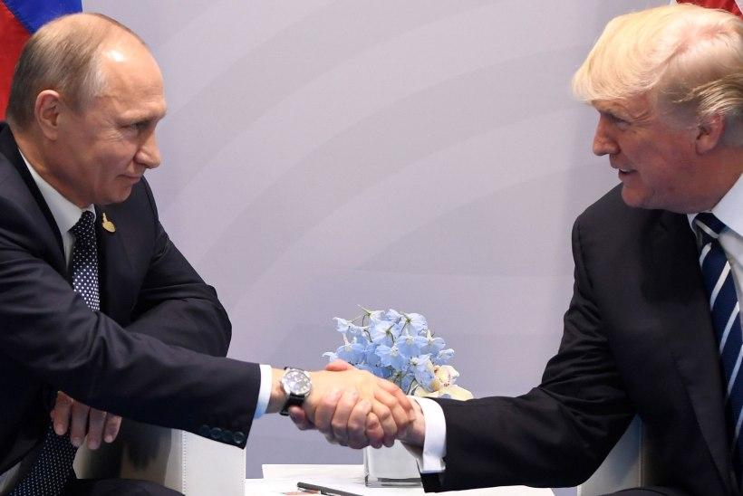 TRUMP VS PUTIN: kohtumine algas viisakustega