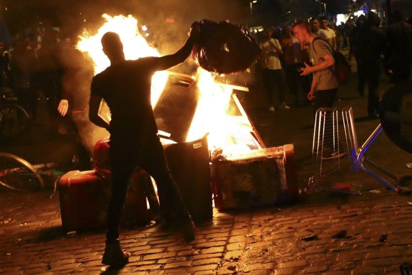 Meeleavaldajad muutsid Hamburgi maapealseks põrguks