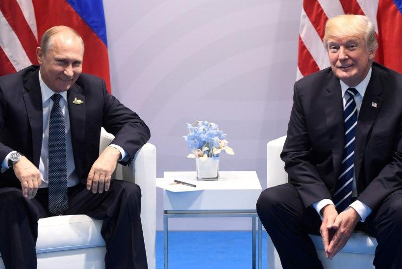 """Trump Putinile: """"Mul on suur au teiega kohtuda."""" Kohtumine kestis kaks tundi ja 16 minutit"""
