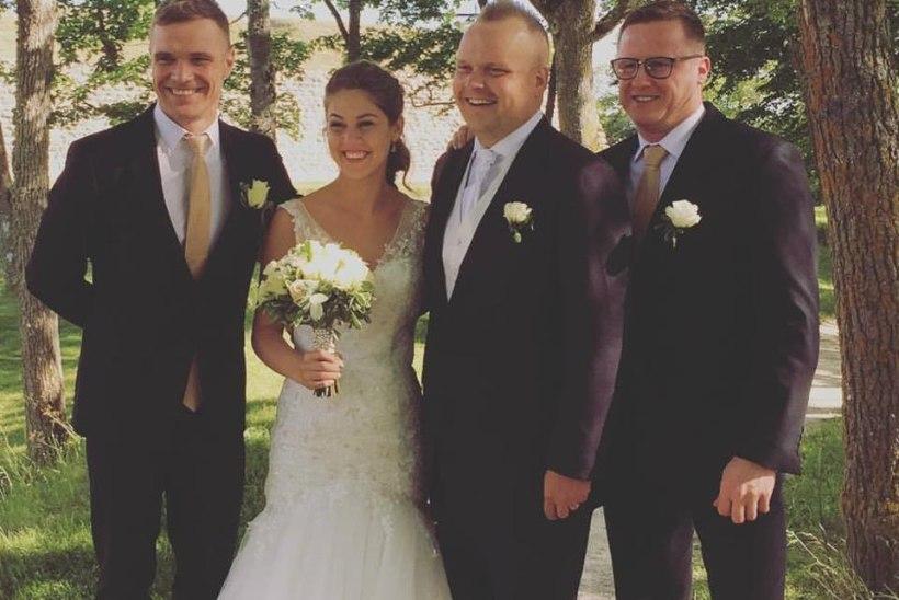 Ott Leplandi parim sõber, DJ ja raadiohääl Andres Puusepp sõudis abieluranda maagilisel kuupäeval 7.7.17