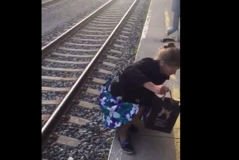 Katrin Lust rongiõnnetusest: kui rong lõpuks Tartusse jõudis, olid perrooniuksed lukus