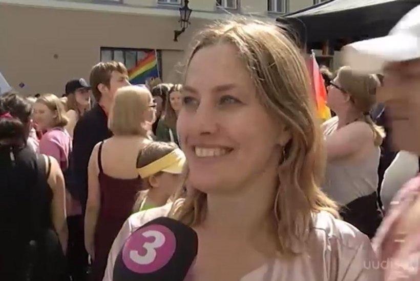 TV3 VIDEO   Oudekki Loone päästis LGBT rongkäigul riigikogu au