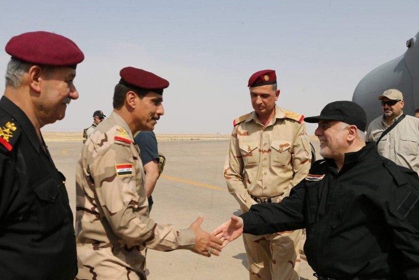 Mosuli vabastamist kuulutati lahingu jätkudes