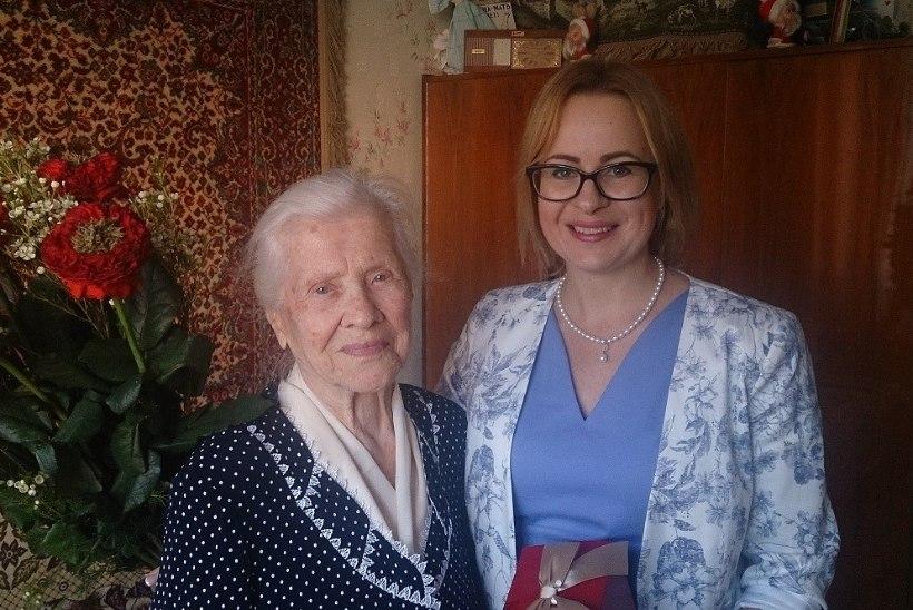 FOTOUUDIS   Lasnamäelane Maria Girdneva sai 100aastaseks