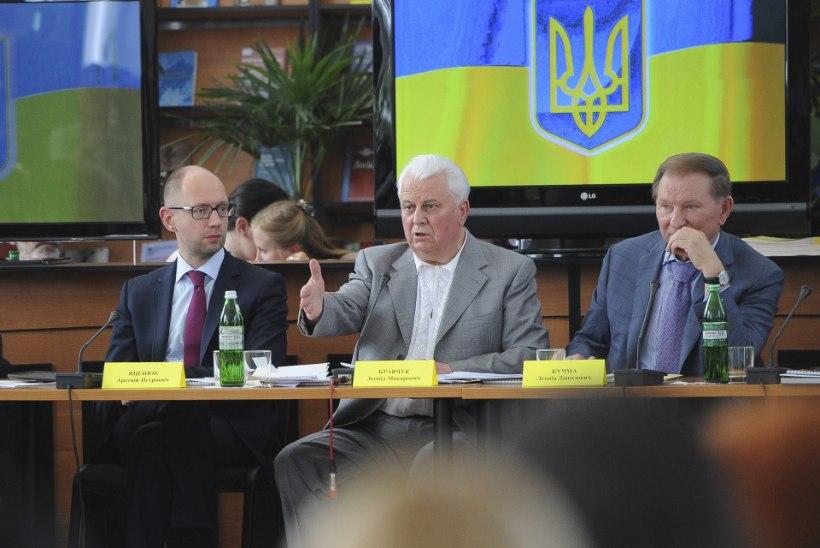 ESIMENE PRESIDENT: Janukovõtši suurim kuritegu oli Vene vägede Ukrainasse kutsumine