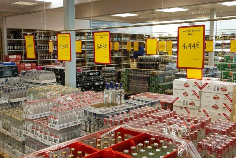 TV3 VIDEO   Läti piiri alkoholipoed suurendavad kasvava nõudluse tõttu müügipindu