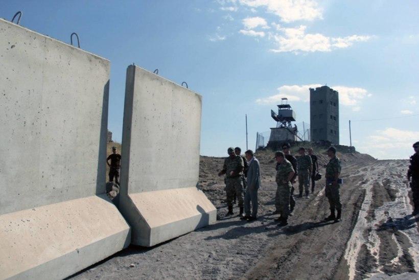 President Erdogan ehitab suurt Türgi müüri