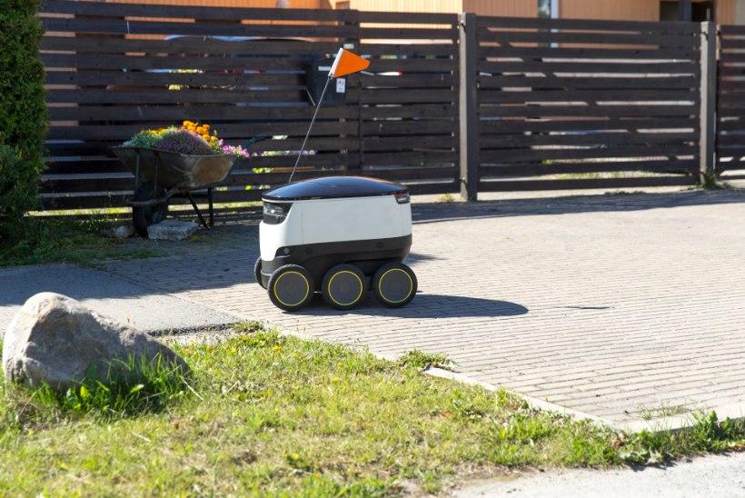 Kakumäel ründas purjus mees pakirobotit ja naabrinaist