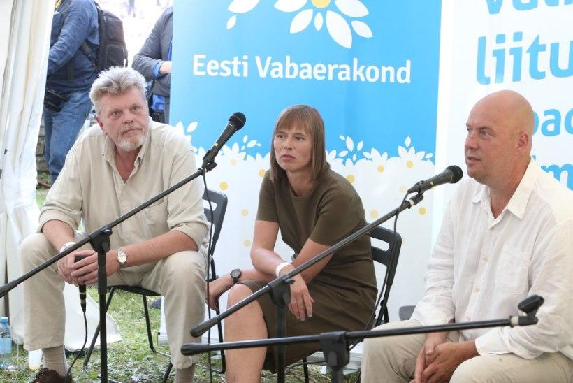 Artur Talvik ja Kersti Kaljulaid arvamusfestivalil: kogukond peab olema isetekkeline