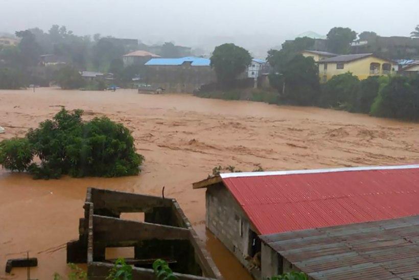 Sierra Leones hukkus mudavaringus mitusada inimest