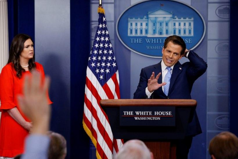 """Valgest Majast kümne päeva järel vallandatud Scaramucci: """"Seal tahetakse Trumpist lahti saada!"""""""
