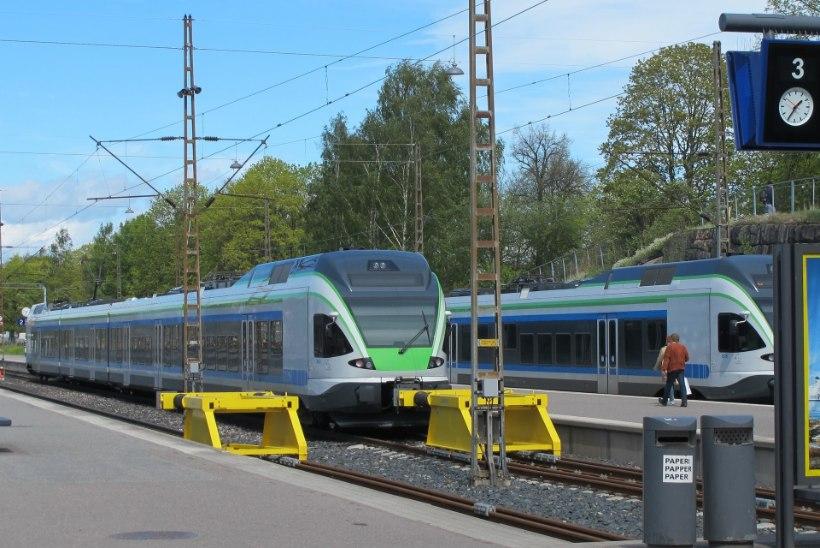 STREIK: Soomes seiskus rongiliiklus