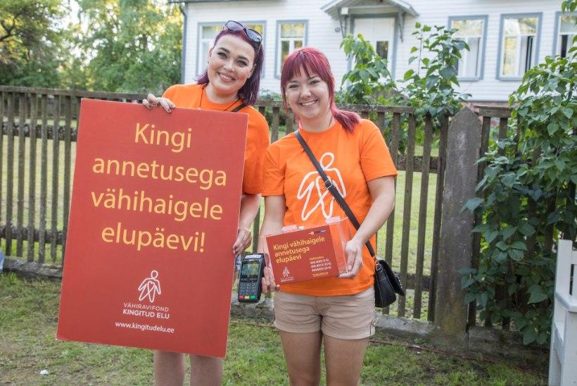 Arvamusfestivali, Viru Folgi ja Hauka laada külalised annetasid vähihaigete heaks ligi 4700 eurot