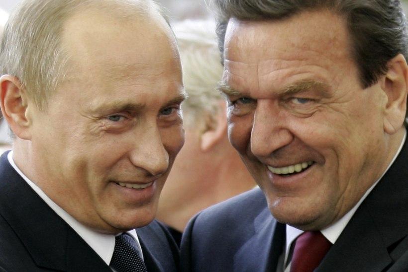 Saksamaa endine liidukantsler teenib Putinit