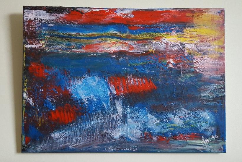 """Henrik Normanni varjatud anne: """"Minu esimesel maalil olid tulbid."""""""