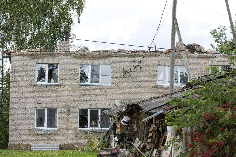 TORMI JÄRELKAJA: nädalavahetuse torm jättis vooluta Lääne maakonna jagu majapidamisi