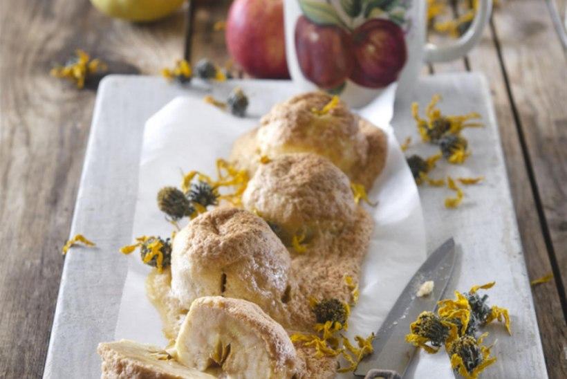 Õunad rukki-mandlitainas