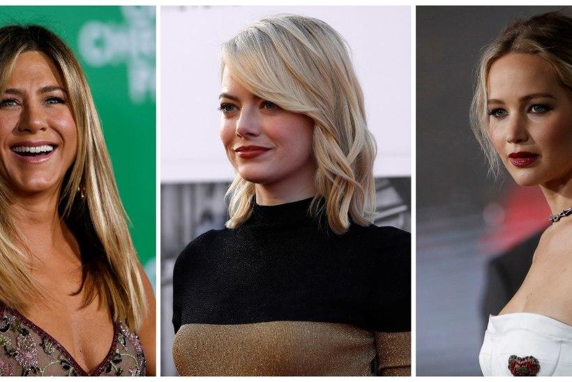 Emma Stone napsas Jennifer Lawrence'ilt edukaima naisnäitleja tiitli