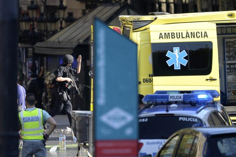 Terror Barcelonas: kaubikurünnakus vähemalt 13 surnut ja 64 vigastatut