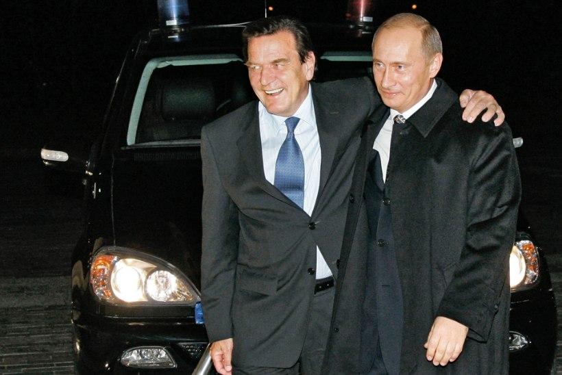 """Ekskantsler Gerhard Schröder: """"Mind laimatakse Merkeli huvides!"""""""