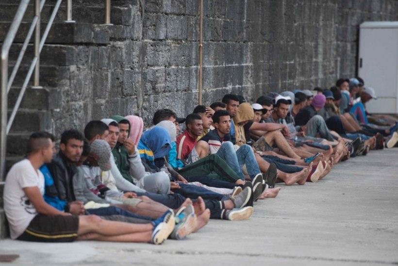 Üle Vahemere on Euroopasse jõudnud ligi 120 000 migranti