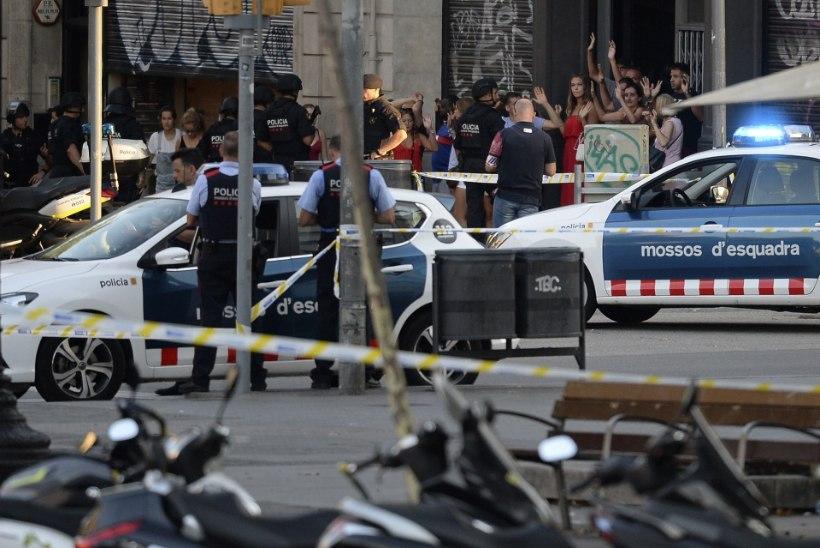 Šokis Hispaania leinab terrorirünnaku ohvreid