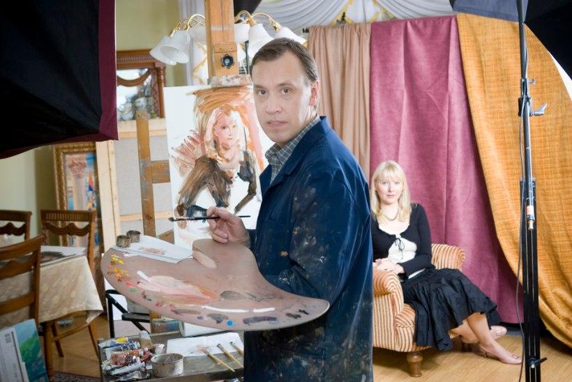 Kunstnikud Aapo Pukk ja Aivar Juhanson teevad kahest heategijast portree