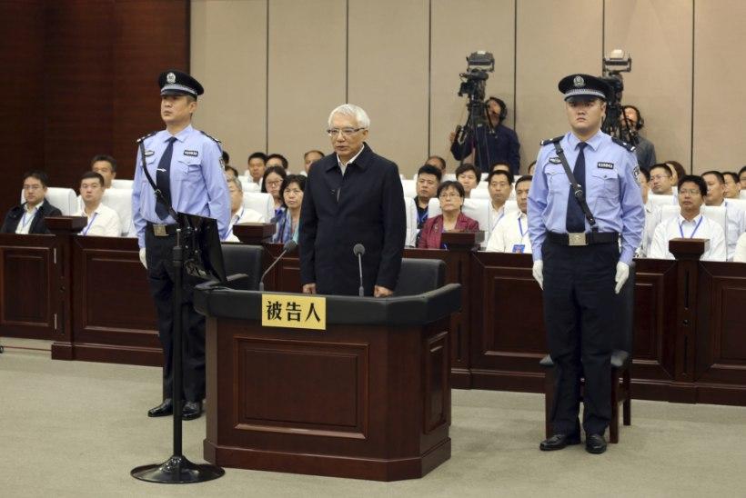 Hiinas käib hoogne korruptandijaht