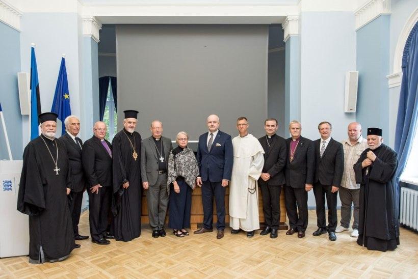 Siseminister Anvelt arutas Euroopa kirikujuhtidega radikaliseerumise üle