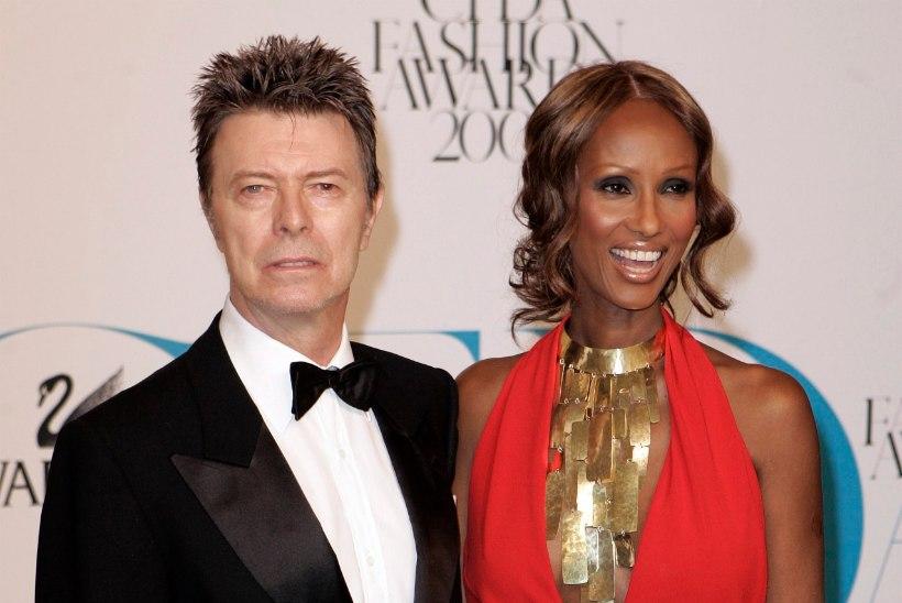 Haruldane foto David Bowie ja Imani tütrest: punane juuksepahmakas ja ninarõngas!