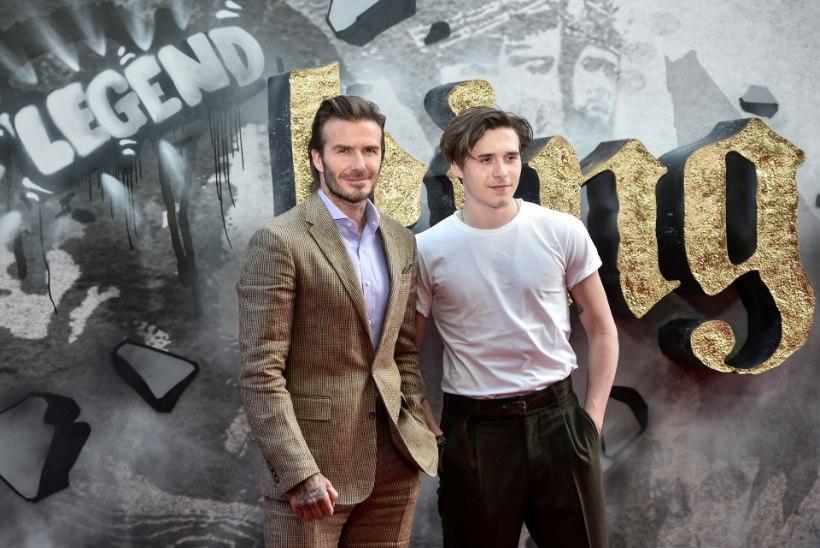 """David Beckhami poeg kurdab, et kuulsus on raske olla: """"Ma ei saa teha seda, mida enamik 18-aastaseid teevad."""""""