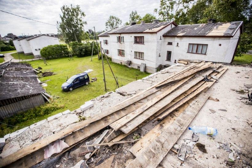 Ambla palub tormikahju tõttu valitsuse abi