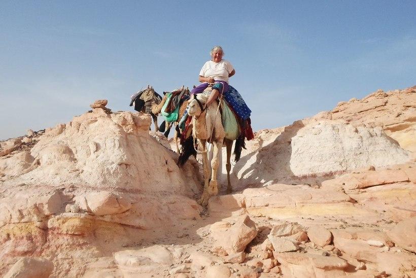 """""""Ostsin kuus aastat tagasi üheotsapileti Egiptusesse, teadmata, kus ma seal elan või kauaks ma sinna jään."""""""