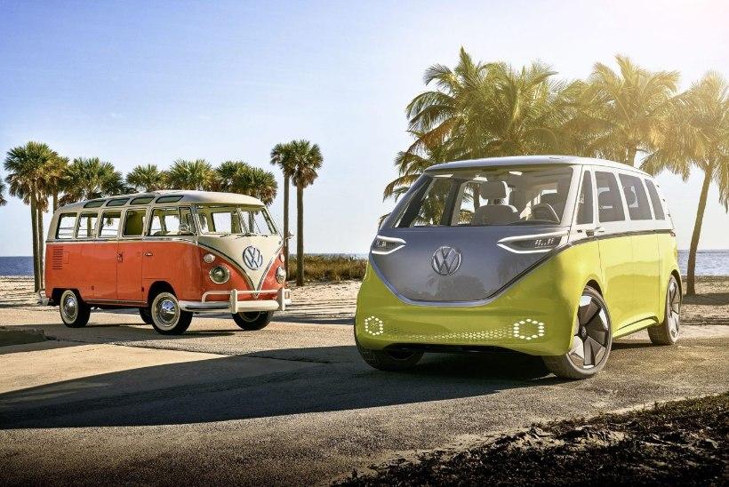Nummibussi teine tulemine: Volkswagen Kleinbus saab elektrilise järeltulija