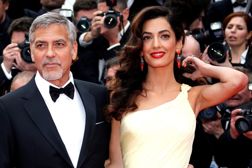 Värske kaksikute papa George Clooney näeb üsna kurnatud välja ...