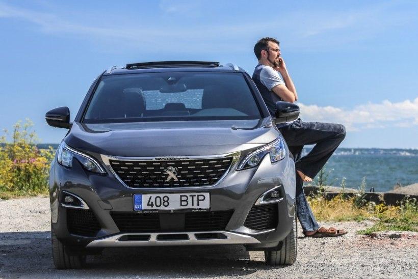 "Peugeot 5008: Ceci est une voiture que je recommande! Ja põristage korralikult ""r-i"""