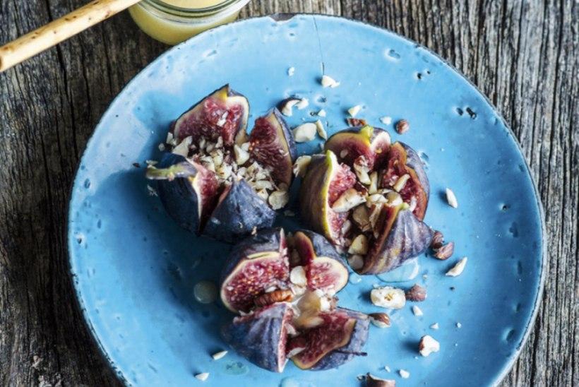 Viigimarjad mee ja pähklitega