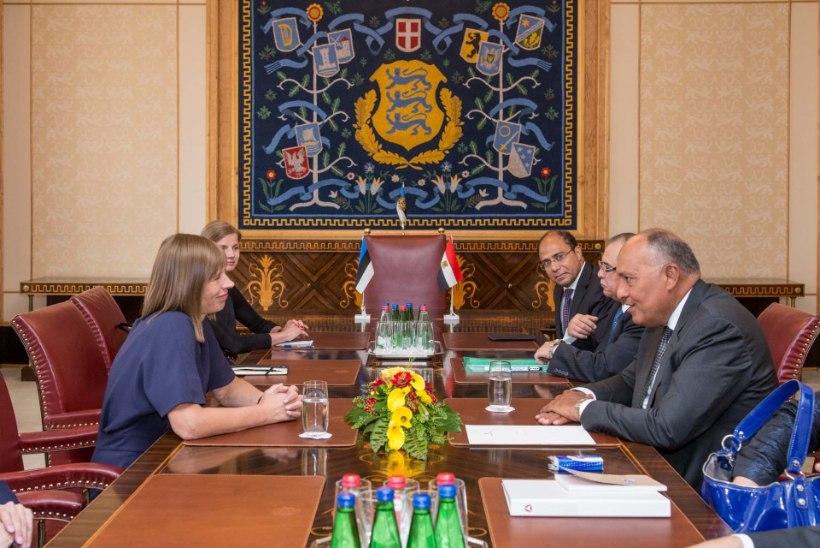 FOTOD | President ja välisminister kohtusid Egiptuse välisministriga