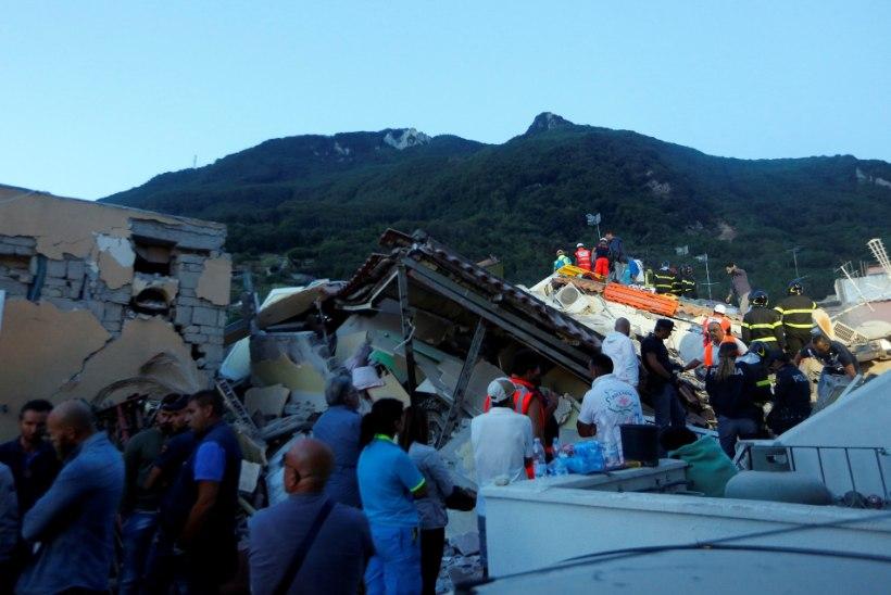 FOTOD   Itaalia saart raputas maavärin, milles hukkus kaks inimest