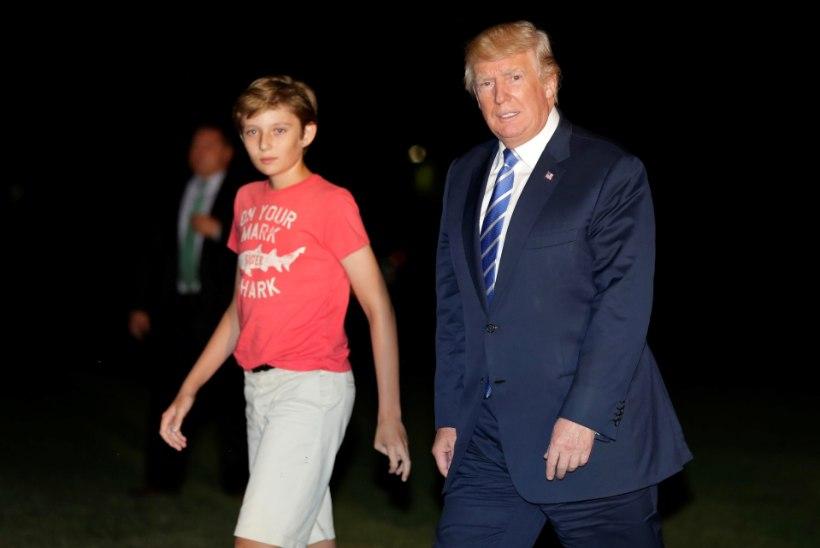 """Chelsea Clinton kaitseb 11aastast Barron Trumpi: """"Jätke talle ta lapsepõlv!"""""""
