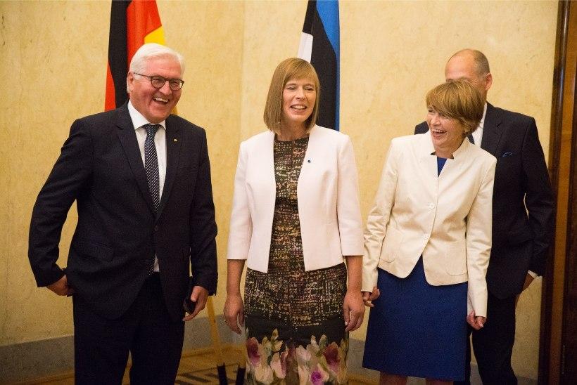GALERII | Saksamaa president kohtus president Kersti Kaljulaidiga