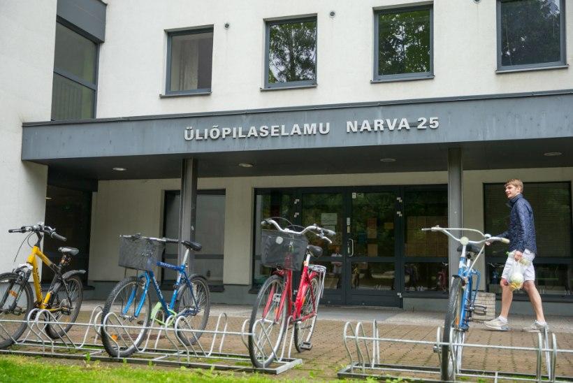 Tartu ülikoolis jäi mitusada tudengit ühikatoata