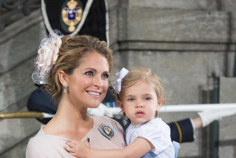 Printsess Madeleine on nüüd brünett