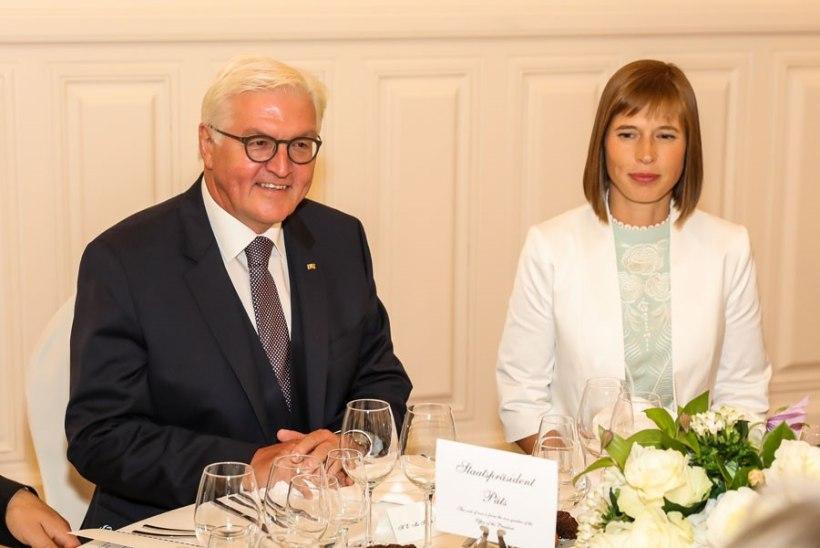 GALERII | Eesti president andis Saksamaa ametivenna auks piduliku õhtusöögi
